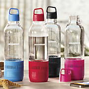 water bottle with integrated bluetooth speaker by sylvania