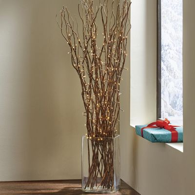 LED Lit Branches