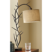 tree branch table lamp