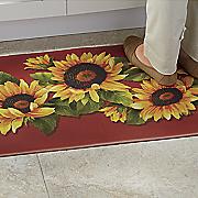 sunflower anti fatigue mat