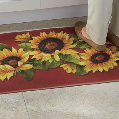 Sunflower Anti-Fatigue Mat