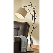 tree branch floor lamp