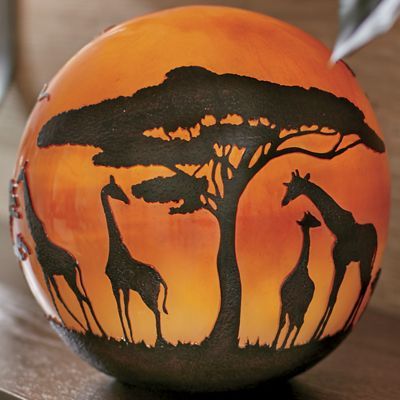 Safari Globe Light