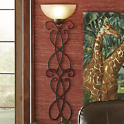 luxury scroll wallchiere
