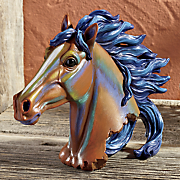 painted horse figurine