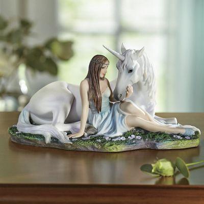 Pure Heart Unicorn Figurine by Anne Stokes