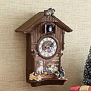 cat cuckoo clock