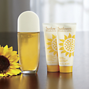 3 pc  sunflowers set by elizabeth arden