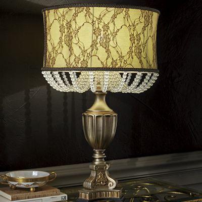 Bead Chain Table Lamp