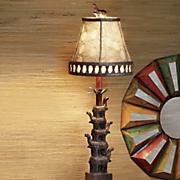 stacking elephant lamp