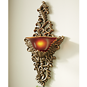 ornate wall sconce