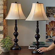 set of 2 touch table lamps