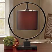Circle Frame Table Lamp