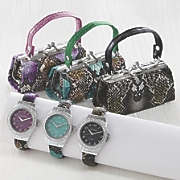 lipstick purse with matching watch