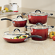 8 pc  gage gradient cookware set by oster
