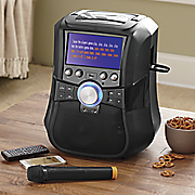 portable bt karaoke system by supersonic