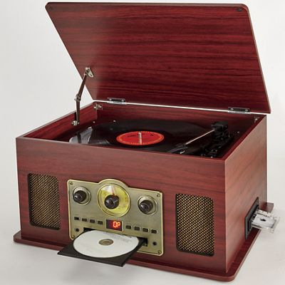 5-In-1 Nostalgic Music System by Electro Brand
