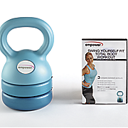 3 in 1 kettlebell and dvd by empower