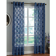 argos sheer grommet panel