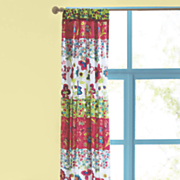 bright garden tab top panel pair