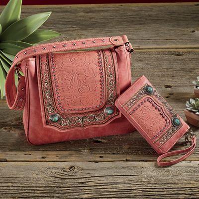 Summer Sunset Bag and Wallet