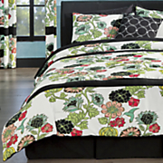 aurora comforter set  pillow  panel pair and shower curtain