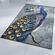 peacock feathers rug by mohawk