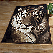 tiger rug   5  3  x 7  2