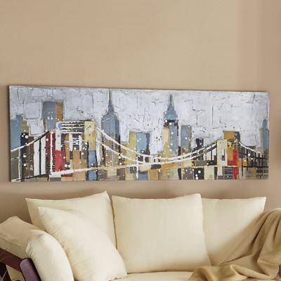 Colorful Cityscape Art