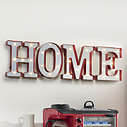4 pc  lighted home letters set