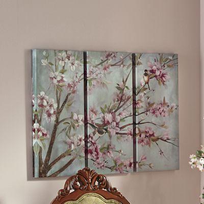 3-Piece Cherry Blossom Canvas Print Set