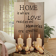 home  love  memories room screen