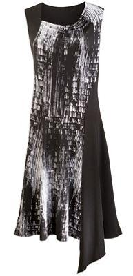 Splatter Blocked Dress