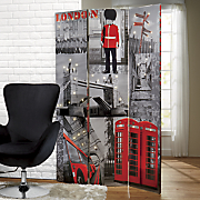 lighted london cityscape screen