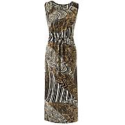 safari knit dress 100