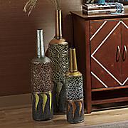 3 pc  ethnic vase set