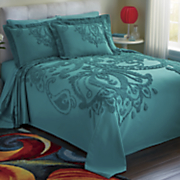 fantasia chenille bedding and sham