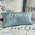 Sentiments Embroidered Pillow