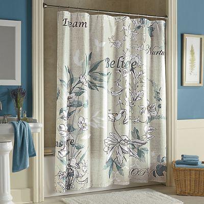 Sentiments Shower Curtain