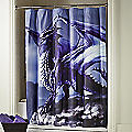 Ethereal Dragon Shower Curtain