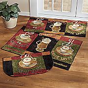 3 pc  caffe latte rug set by mohawk