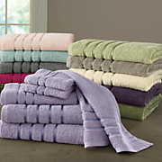 cotton luster 8 pc  towel set
