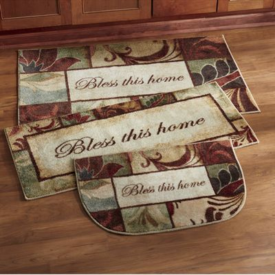 3-Piece Bless This Home Rug Set by Mohawk