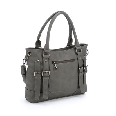 Double Buckle Bag with Phone Charger
