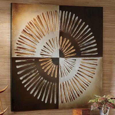 Tan, Gold and Brown Wall Art