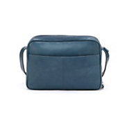 2 compartment leather organizer bag