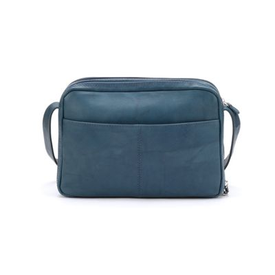 2-Compartment Leather Organizer Bag