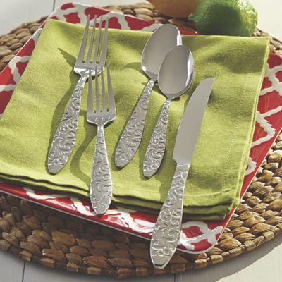 20-Piece Isadoura Flatware Set