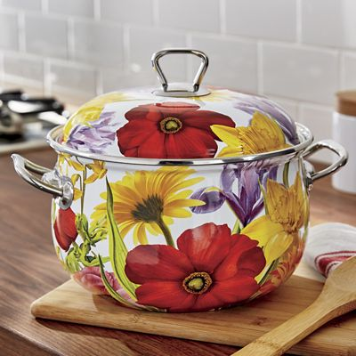 4.5-Qt. Floral Dutch Oven by The Pioneer Woman