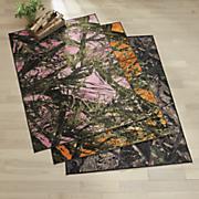 true timber camo rug